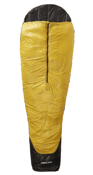 Nordisk Oscar +10° Sleeping Bag L mustard yellow/black